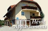 Appartements und Gästehäuser in Bad Hévíz